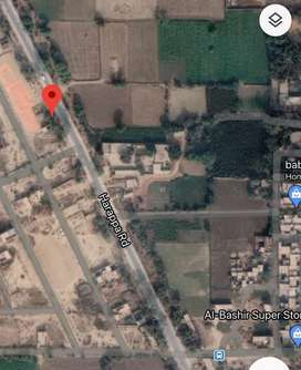 Commercial plot on main road with 80ft front with all facilities