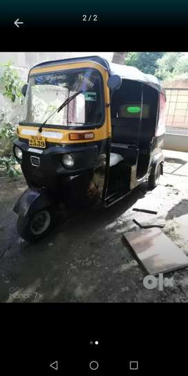 BAJAJ RE COMPACT auto rickshaw for sale in good condition with permit