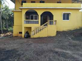 Settlement Plot of 1035 sq meter  with bunglow in Balli cuncolim Goa