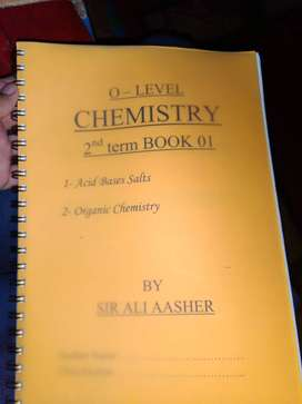 O level Chemistry past papers both yearly and topical with notes