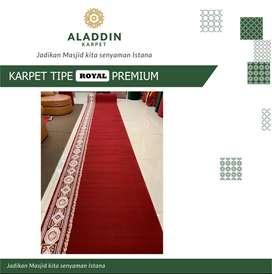 Karpet Masjid Royal Premium Free Vacuum Cleaner