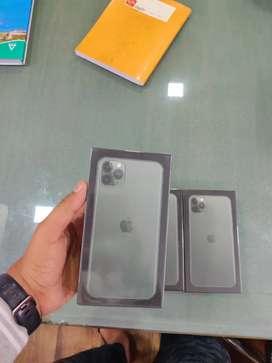 New - iPhone 11 Pro Max 64gb Green - 1 Year apple warranty - gst bill