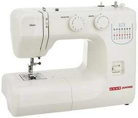Usha Janome Allure Electric sewing machine rarely used,
