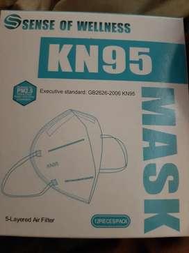 Masker sense of wellness kn 95