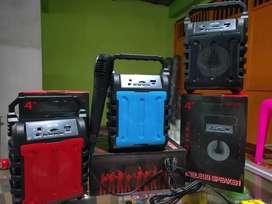 Speaker Bluetooth Wireless Free Mic