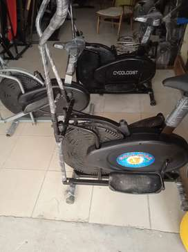 Elliptical trainer cycling machine elipticals cycle gold star cycles