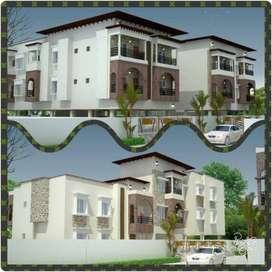 3 BHK house for rent in Dakshin Emerald Apartment