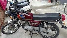 Yamaha rx 135 of model call