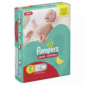 Pampers Pants Diapers Small Size 2 (72 pieces)