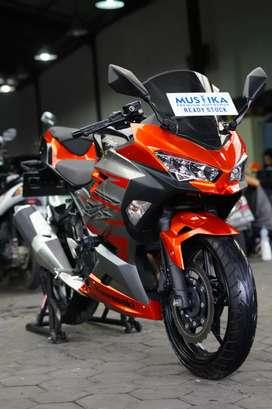 Kawasaki All New Ninja MDP 2018 ABS.Km8rb.Barang Langka.Warno Mustika