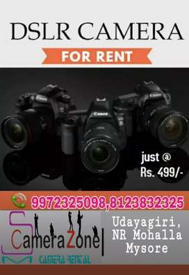 Canon EOS dslr camera for rent