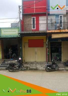 Dijual Ruko 2 Lantai ada Kamar Tidur Lokasi Strategis di Pondok Ungu