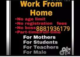 No qualification only internet knowledge is required for online jobs