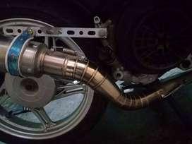 Knalpot racing pro liner