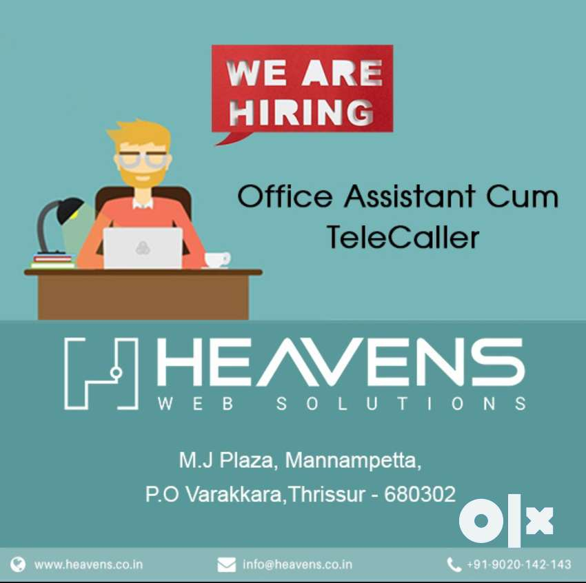 Office Assistant cum Telecaller 0
