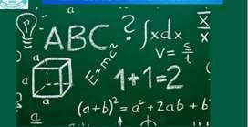 Maths  home   tution(class 8,9,10,11,&12)