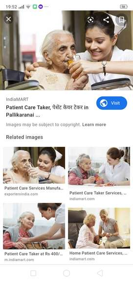 Care Taker for old Age Grand Mother Location Ghodasar