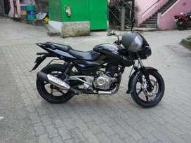 Bajaj pulser 180,  single handed bike,  in very good condition