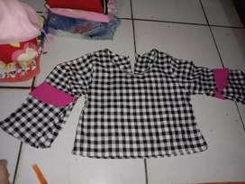 Pakaian anak umur  1-5 tahun
