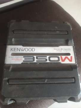 Kenwood amplifier & sub