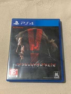 Metal Gear Solid 5 (CD / Kaset Game PS4)