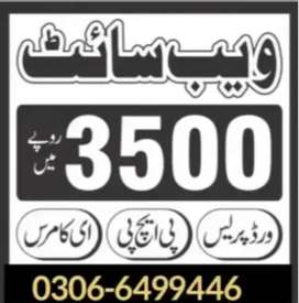 Website 3500 Rupees ma only Banwaye.