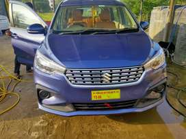 2496/day Ertiga New for self drive car in Hyderabad by long drive cars