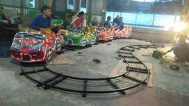 Mini coaster panggung odong rel kacamata oval RAA