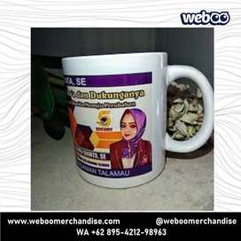 Mug Pilkada - mug souvenir, souvenir gelas, mug keramik