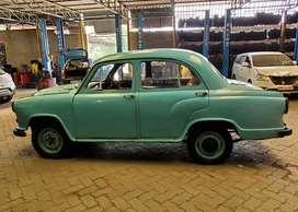 Vintage ambassador car