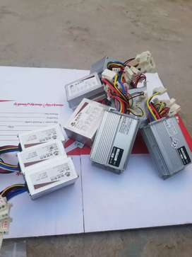 Dc Motor Controller and acceleter Throttle electric bike eBike