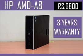 AMD A8 BRANDED CPU - WARRANTY WITH BILL