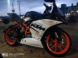 Ktm RC 390 ABS IN mint condition 2016 December cash purchased