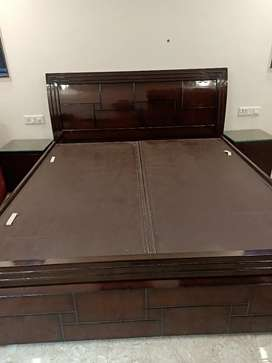 Brand new Double bed with side table