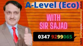 Prepare Cambridge AS and A Level Economics with Sir Sajjad in A-Grade