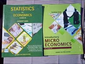 Microeconomics+Statistics Class 11 Sandeep Garg