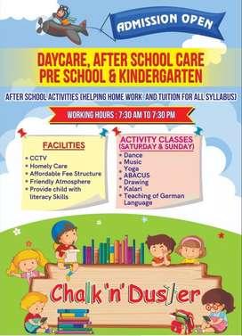 Daycare Afterschool care