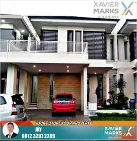 Rumah Modern Mewah 2 Lantai Blok Depan Siap Huni
