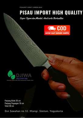 Knife Chef, Pisau Sembelih, Pisau Daging, seset Super Tajam IMPORT NEW