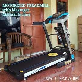 Treadmill elektrik 16 speed new Osaka IIM