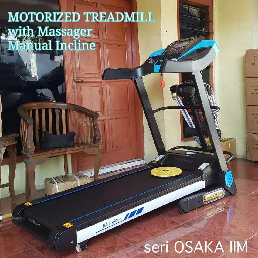 Treadmill elektrik 16 speed new Osaka IIM 0