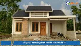 Rumah Murah Mewah KPR Syariah DP SUKA-SUKA di Wonosari Jogja