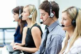 Required call centre candidates male female for outbound sales process