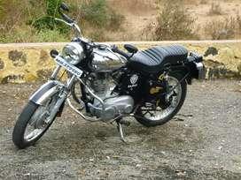 Machismo 350 with AVL engine , chrome tank , no insurance  ,