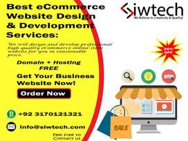 Best eCommerce Store Website Design And Web Development Services