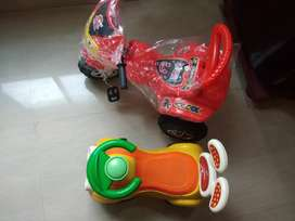 Baby cycle and car sale immediate