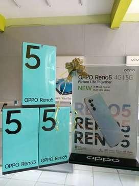 OPPO RENO Reno 5 4G, Baru, Garansi Resmi