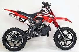 KIDS DIRT BIKE 50 cc petrol ( emi available )