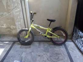 Pedal brake Bmx super sports cycle for sale in very good condition