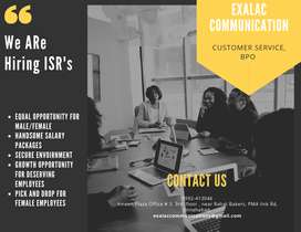 We are hiring CSRs for night shift outbound project.